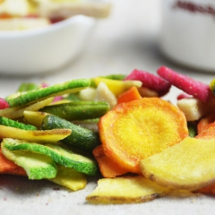 什锦蔬菜脆90g 9大蔬菜组合综合蔬菜干果蔬干