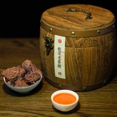 云南老茶头普洱茶熟茶散茶97年老班章古树金芽醇香茶叶礼盒500g