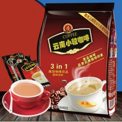 奶香特浓味 云南特产小粒咖啡粉 三合一速溶 50小袋装